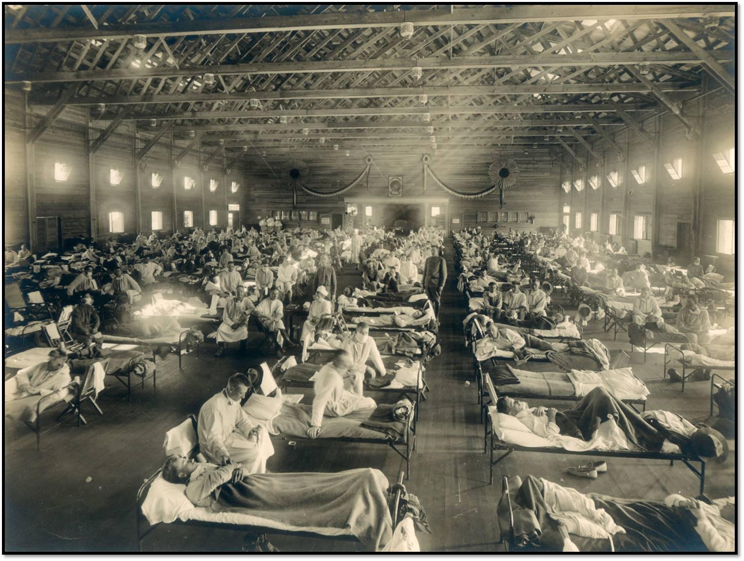 Temporary Spanis Flue hospital 1918 ii